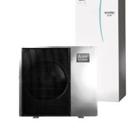 luft til vand varmepumpe Mitsubishi – Ecodan Silent PUHZ-SW100YAA All In One