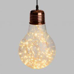 Kobber julelys LED