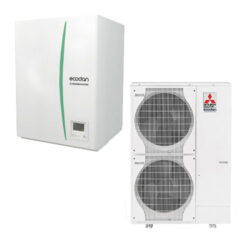 luft til vand varmepumpe Mitsubishi – Ecodan Large Hydrobox PUHZ-SW160YKA