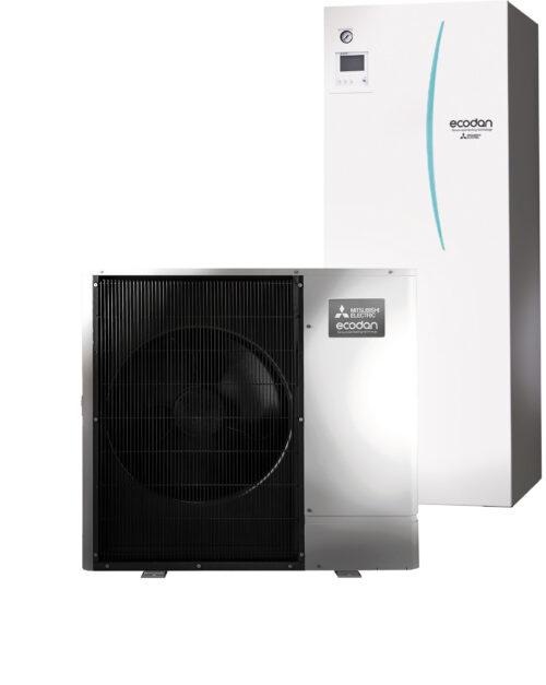 luft til vand varmepumpe Mitsubishi – Ecodan Silent PUHZ-SW75YAA All In One