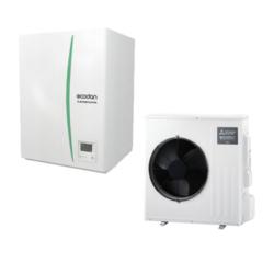 luft til vand varmepumpe Mitsubishi – Ecodan SUZ-SWM60VA Hydrobox