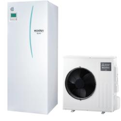 luft til vand varmepumpe Mitsubishi – Ecodan SUZ-SWM40VA All in One