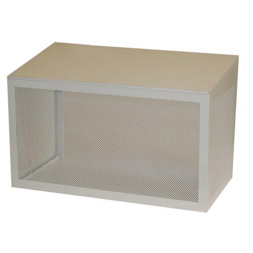 varmepumper Hvid lakeret aluminiumshus