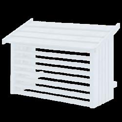 varmepumper Plus varmepumpeskjuler hvid