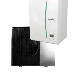 luft til vand varmepumpe Mitsubishi Ecodan Hydrobox PUD-SHWM140YAA