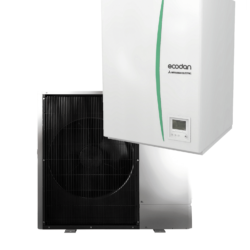 luft til vand varmepumpe Mitsubishi Ecodan Hydrobox PUD-SWM100YAA