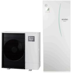 luft til vand varmepumpe Mitsubishi – Ecodan PUD-SHWM140YAA All In One